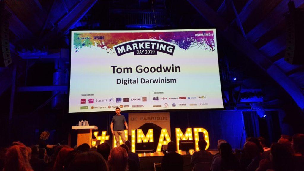 Tom Goodwin Nima Marketing Dag 2019