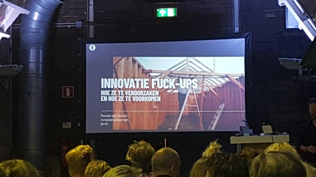 Innovatie Fuck Ups Nima Marketing Dag 2019
