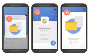 Intrusive pop-up Google
