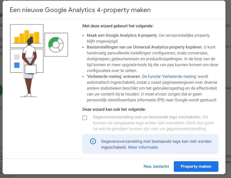 Google Analytics 4 - Stap 3 implementatie