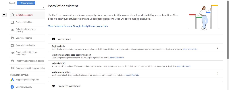 Google Analytics 4 - Stap 4 implementatie